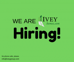 Ivey Homes Employment