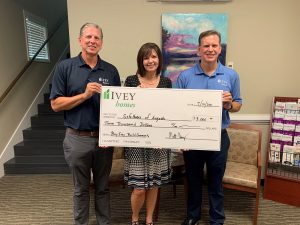 Buy Ivey, Build Community, Ivey Homes, Charity, Safehomes of Augusta