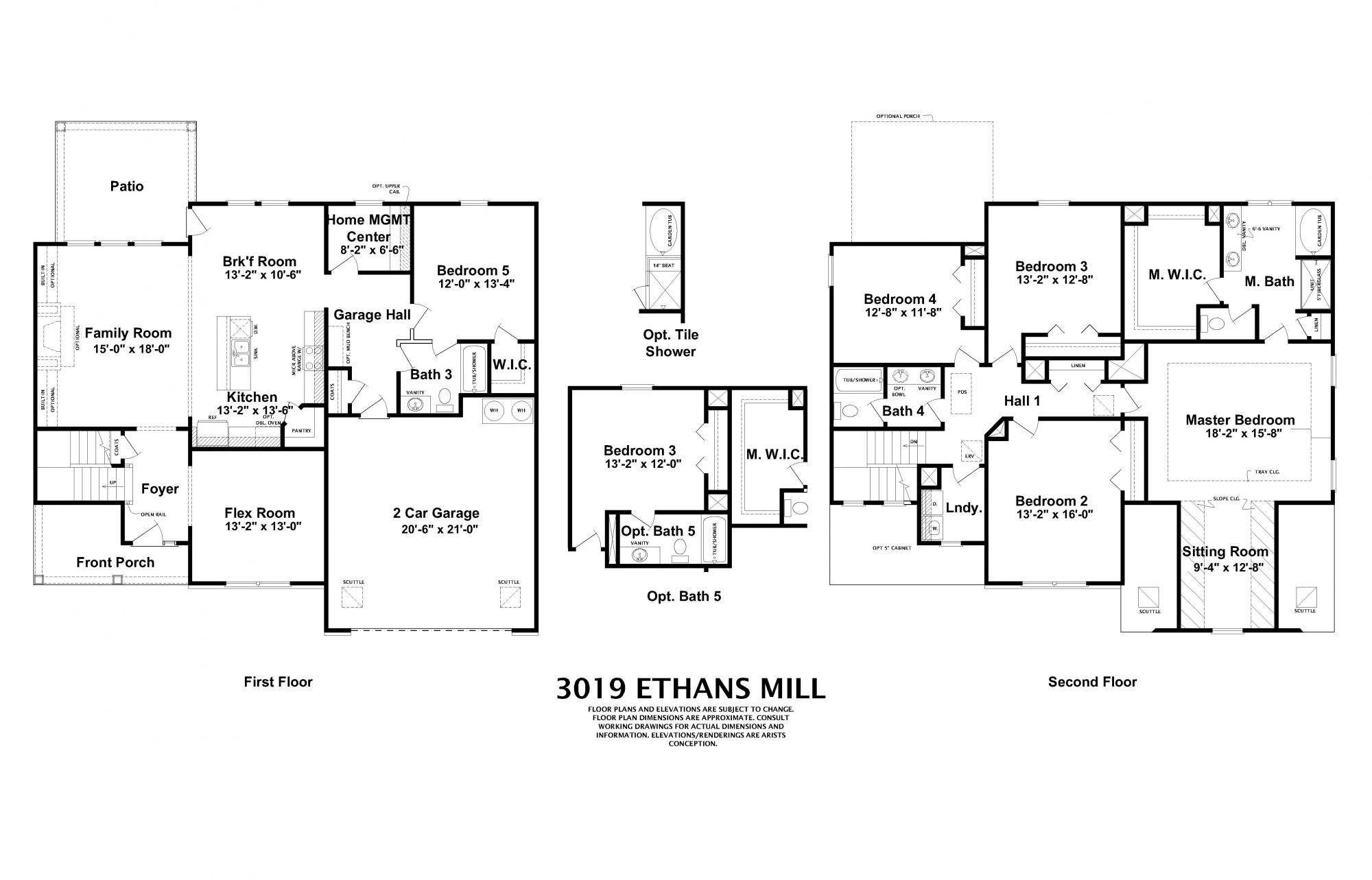 Ethans Mill Home Builders in Augusta GA
