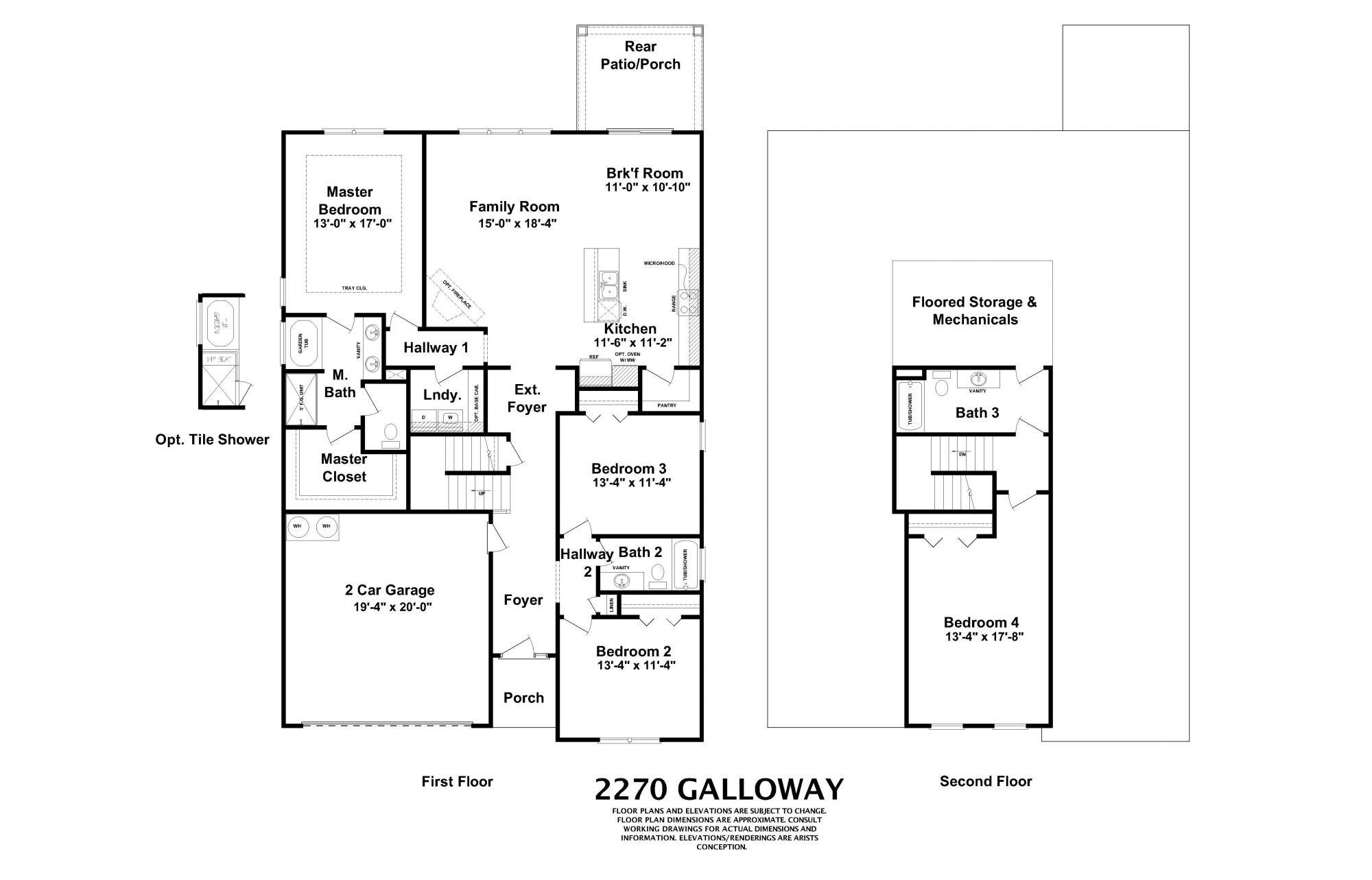 Galloway Home Builders in Augusta GA